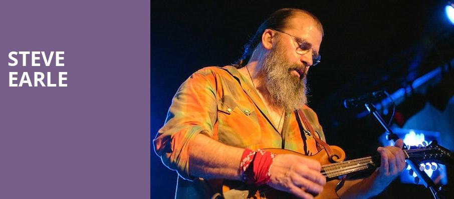 Steve Earle, City Winery DC, Washington