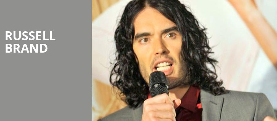 Russell Brand, Lincoln Theater, Washington