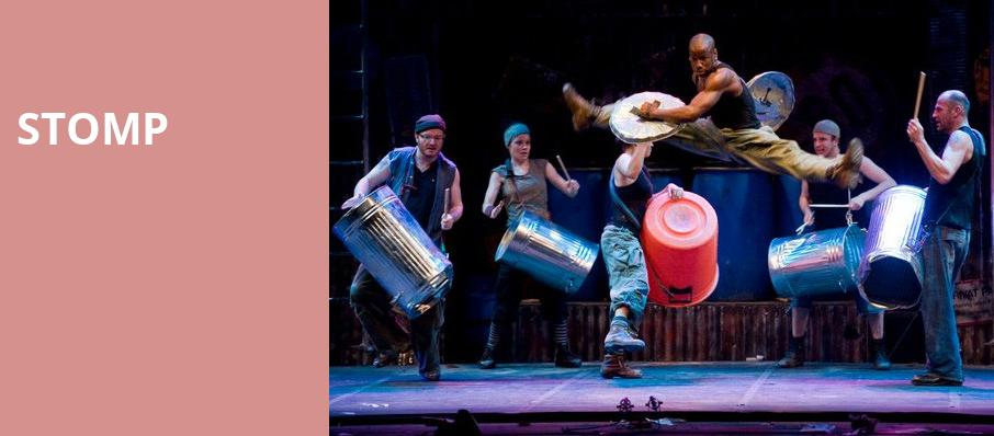Stomp, National Theater, Washington