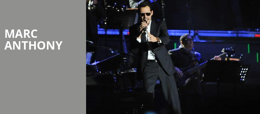 Marc Anthony, Verizon Center, Washington