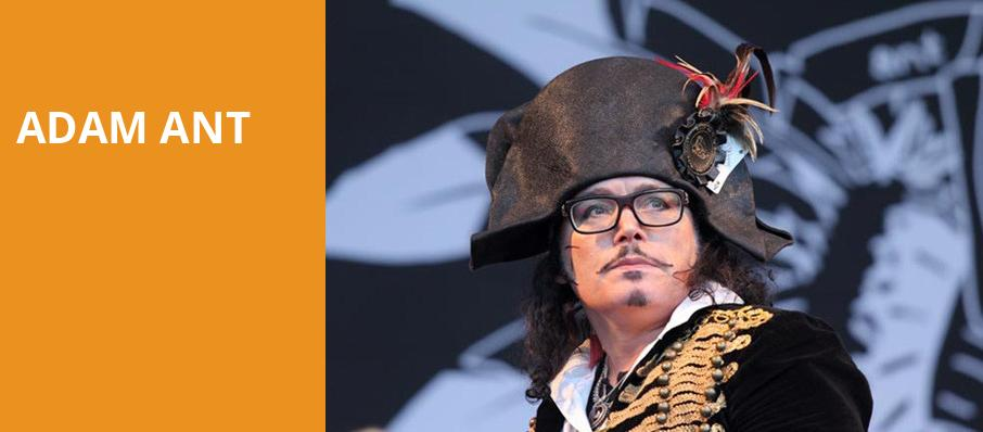Adam Ant, Lincoln Theater, Washington
