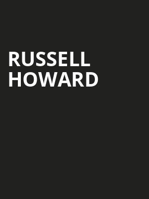 Russell Howard, Sixth I Synagogue, Washington