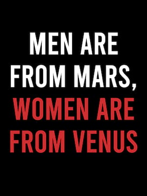 Men Are From Mars Women Are From Venus, Howard Theatre, Washington